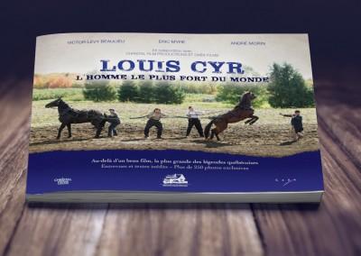 Les éditions Trois-Pistoles - Livre de collection sur le film Louis Cyr, l'homme le plus fort du monde