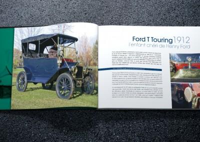 Les éditions Trois-Pistoles - Exemple de pages intérieures du livre sur les voitures anciennes
