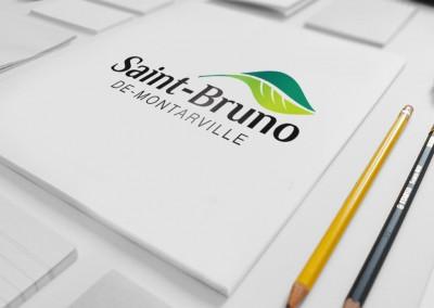 Ville de Saint-Bruno-de-Montarville - Conception nouveau logo