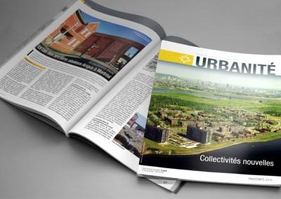 Ordre des urbanistes du Québec - Conception graphique et mise en page de la revue